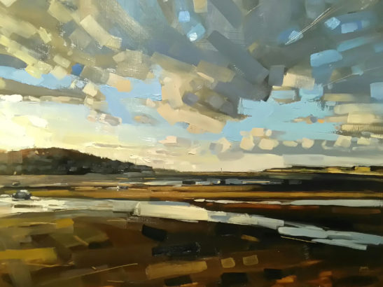 10 Instow 60 x 80 cm oil on board