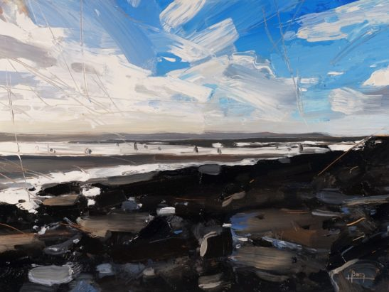 13 Croyde 22 x 30 cm oil on board