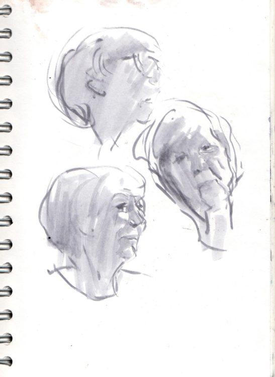 14 Hettie pen and ink