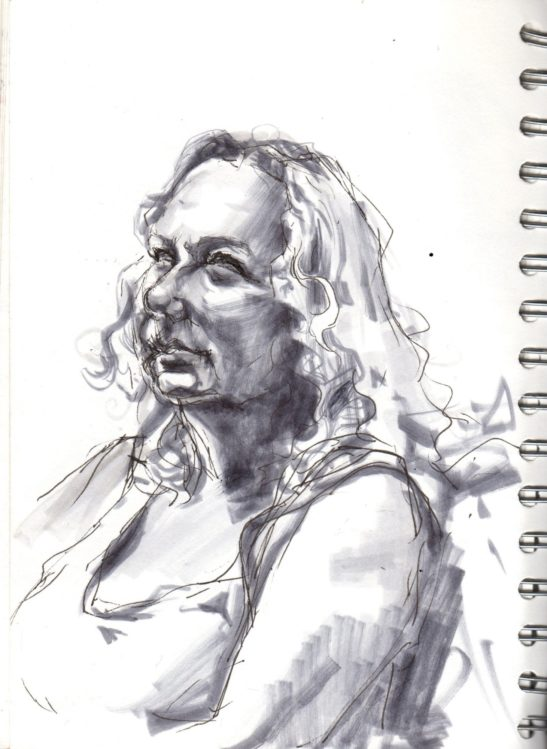 15 Jane pen and ink