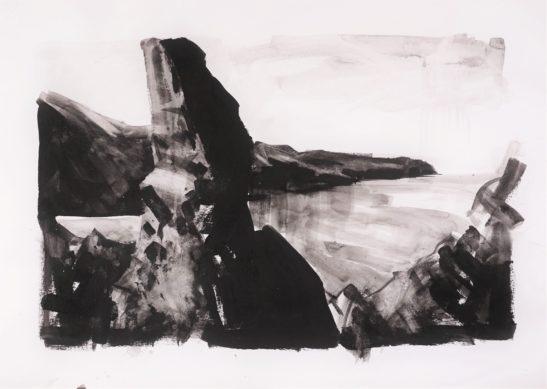 15 Lundy Island 59 x 42 cm 59 x 42 cm Bideford Black on paper