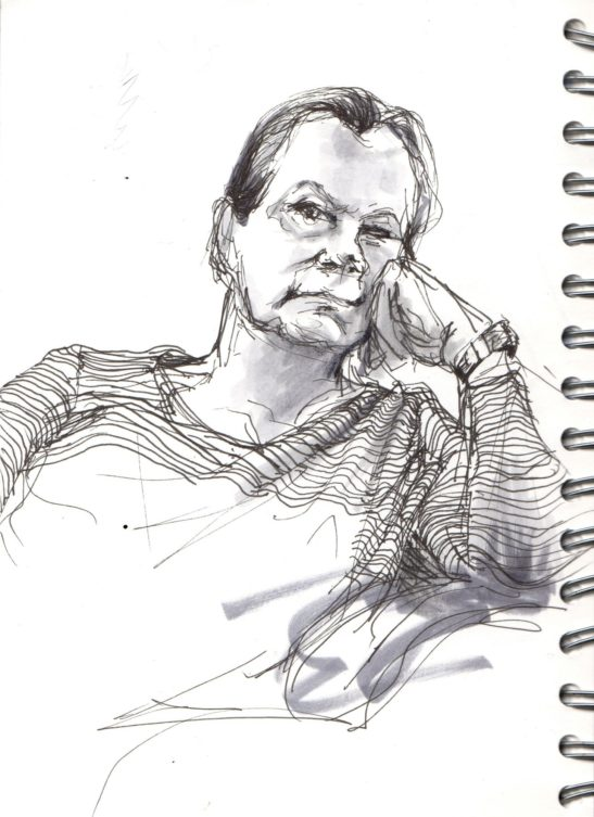 18 Sue pen and ink