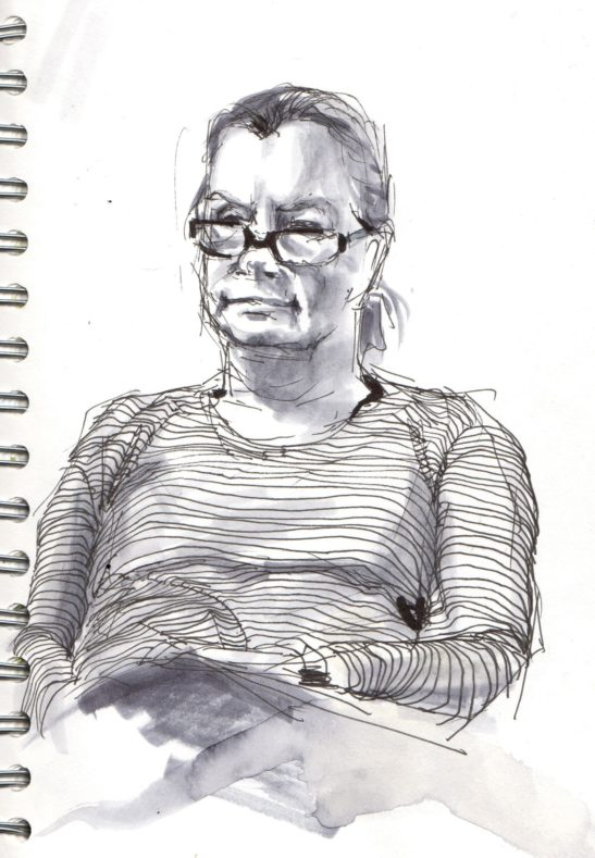 19 Sue pen and ink