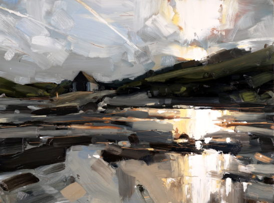 3 Chapel Point Cove 41 x 51 cm oil on board