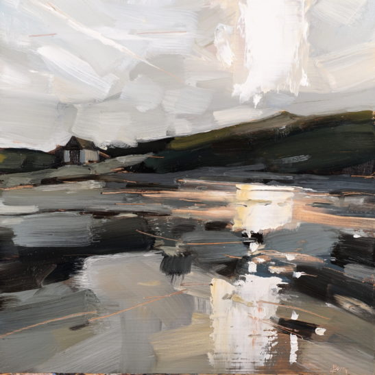 30 Chapel Point Cove 20 x 20 cm oil on board