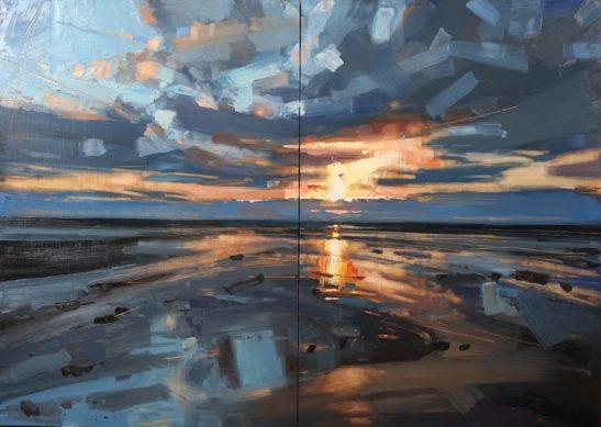6 Westward Ho 100 x 140 cm oil onn board