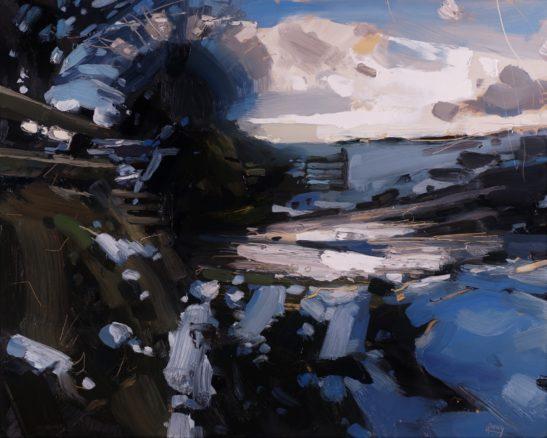 7 Brendon Common Exmoor 41 x 51 cm oil on board