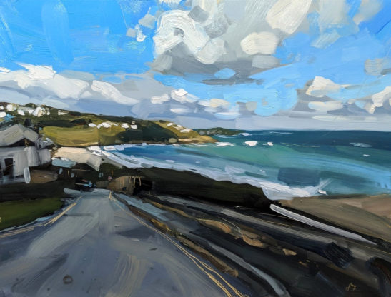Carbis Bay 46 x 61 cm oil on board