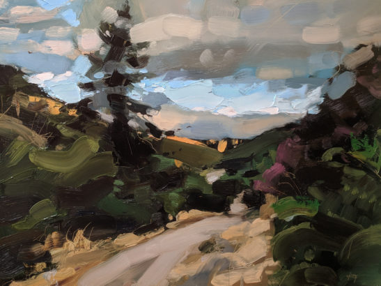 Doone Valley 46 x 61 cm oil on board