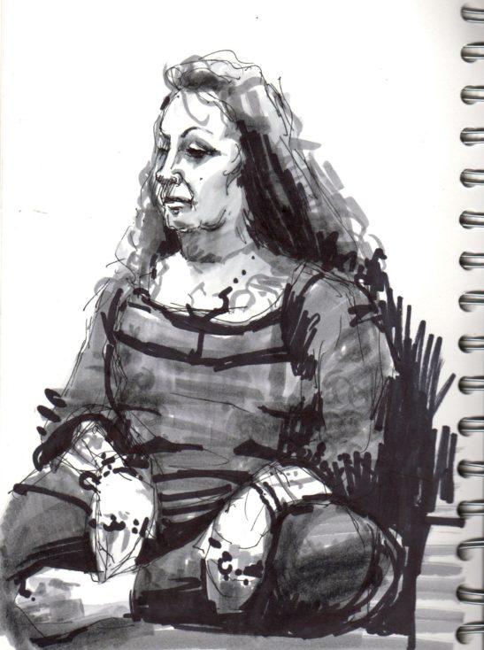 Elaine ink