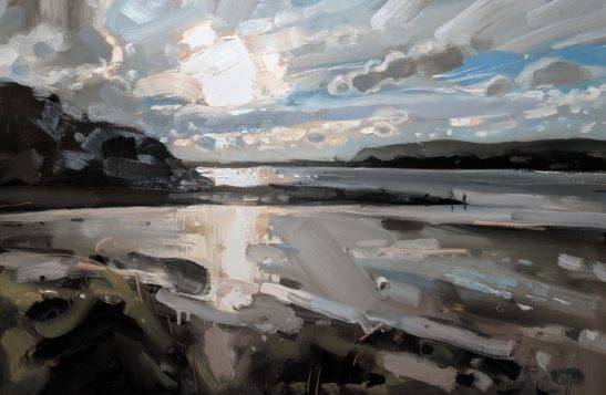 Fremington Quay 61 x 92 cm oil on board