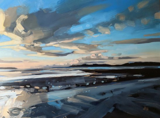 Instow 46 x 61 cm oil on board 1