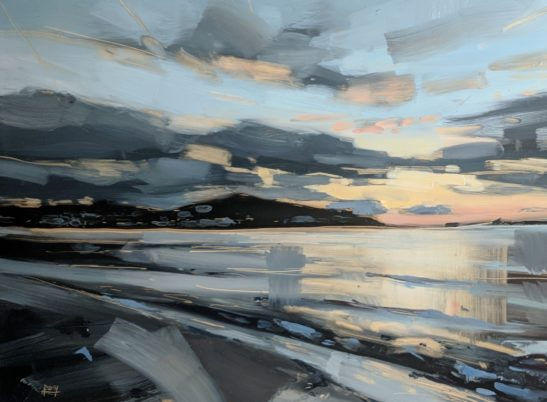 Instow Evening 22 x 30 cm oil on board