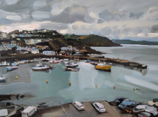 Mevagissey 61 x 46 cm oil on board