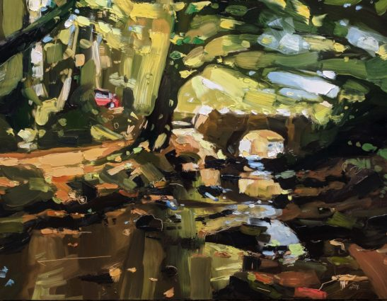 Robbers Bridge 46 x 61 cm oil on board