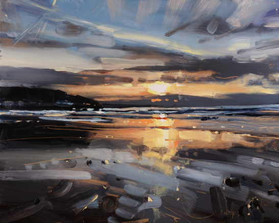 Westward Ho 41 x 51 cm oil on board