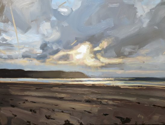 Woolacombe 46x 61 cm oil on board