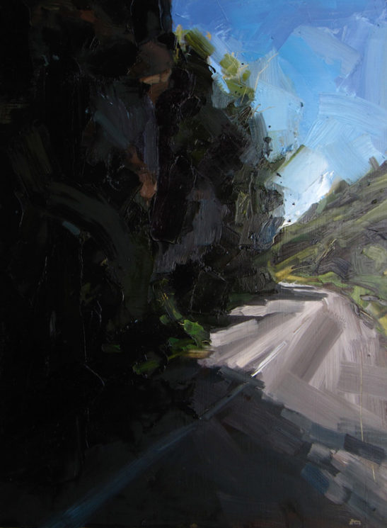 32 cheddar gorge 60 x 80 cm oil on board