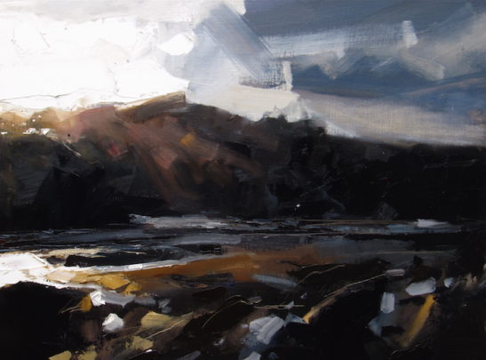 34 combe martin 80 x 60 cm oil on board