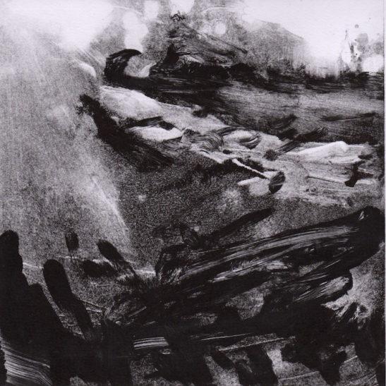 38 southwick hill 20 x 20 cm monotype