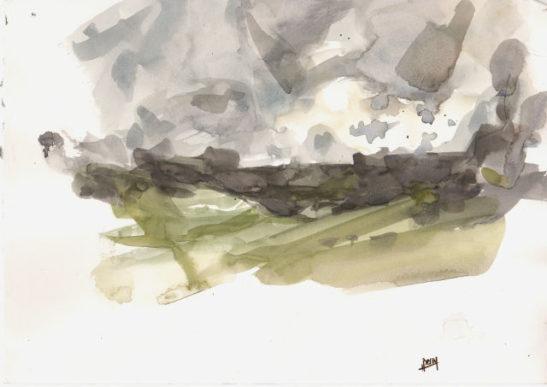 41 wild park 2 30 x 21 cm watercolour