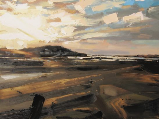 7 Instow low tide 61 x 46 cm oil on board