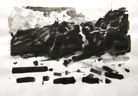 8 The Lime Kiln at Bucks Mills 59 x 42 cm Bideford Black scaled