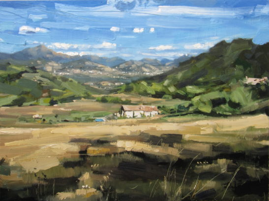 La Quercia 80 x 60 cm oil on board scaled