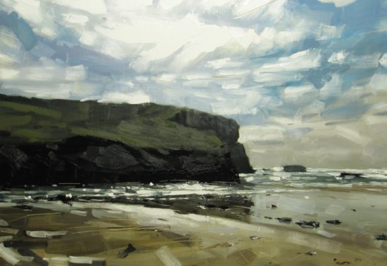 Mawgan Porth 100 x 70 cm oil on board scaled
