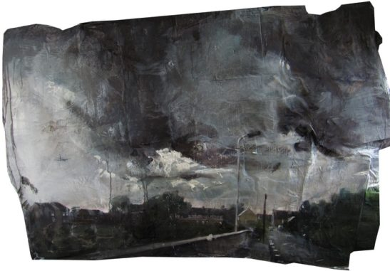 a storm in sipson 124 x 82 cm