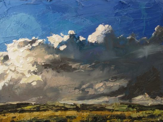 after a storm above manifold valley oil on board