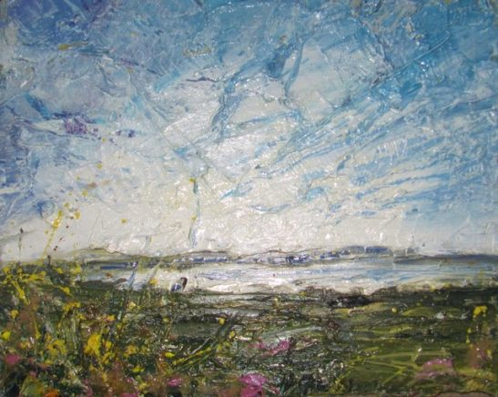 barnstaple bay oil on board