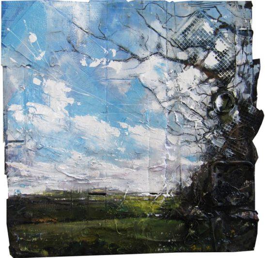 bickham moor from meadown 100x100 cm