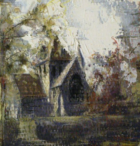 christ church west wimbledon 25.5 x 26cm