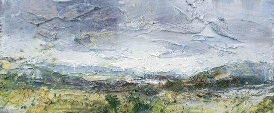 dartmoor oil on board  31 x 13 cm