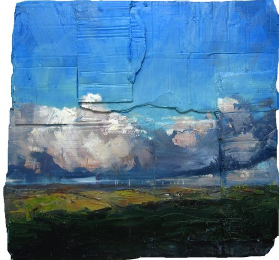 fullabrook down from no mans land 100x100 cm