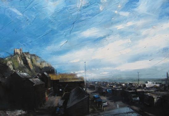 hastings 100 x 70cm oil on board