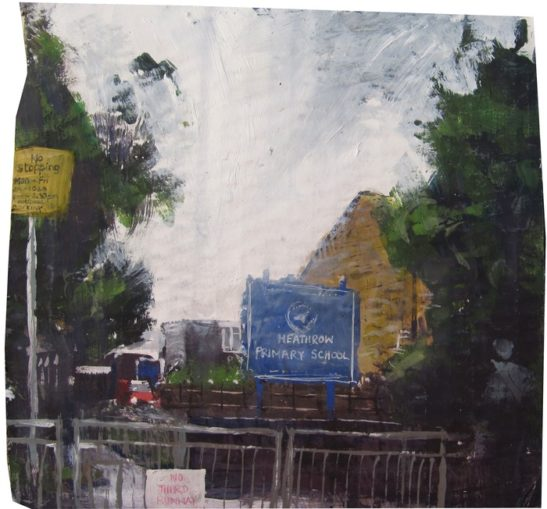 heathrow primary school 21 x 20 cm