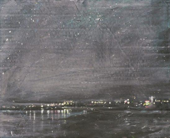 nocturne   helios bay 30.5x25.5cm