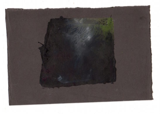 slate monotype on paper ii 10 x 8.5 cm
