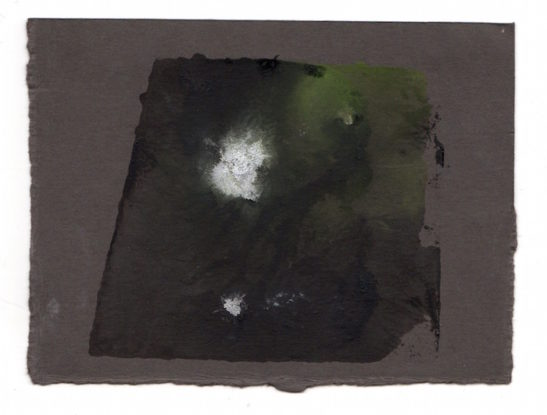 slate monotype on paper xii 10 x 8.5 cm