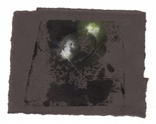 slate monotype on paper xiii 10 x 8.5 cm