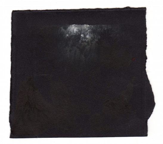 slate monotype on paper xiv 10 x 8.5 cm