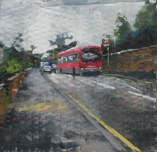 the 222 to houndslow 20 x 20 cm
