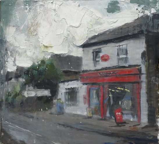 the post office 20 x 18.5 cm