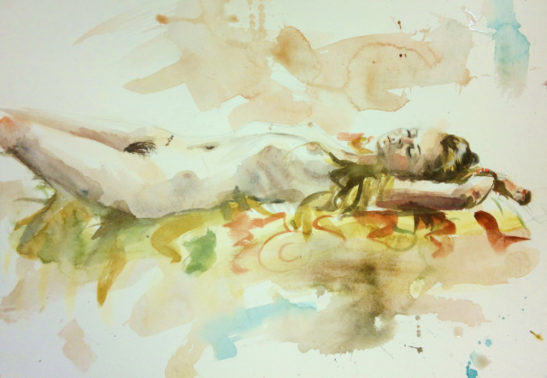 untitled watercolour