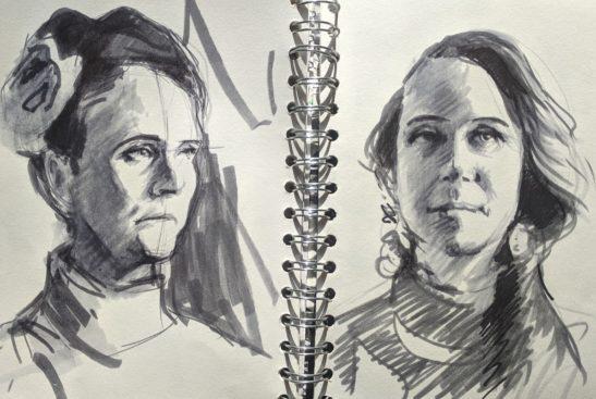 Frankie sketches