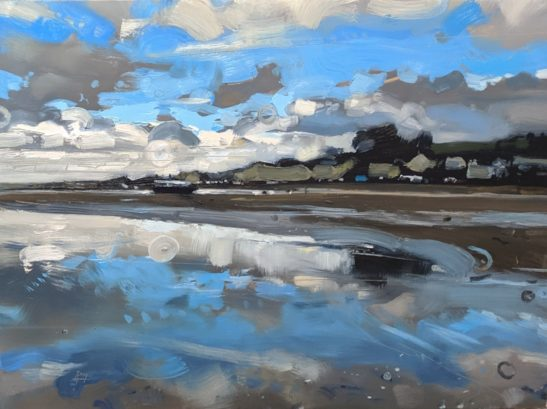 Instow 46 x 61 cm oil on board
