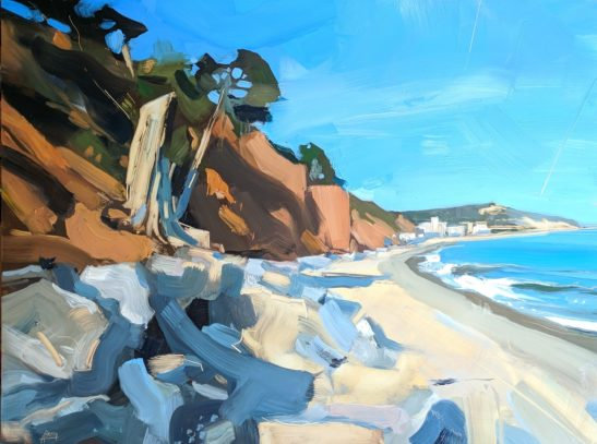 Seaton 46 x 61 cm oil on board