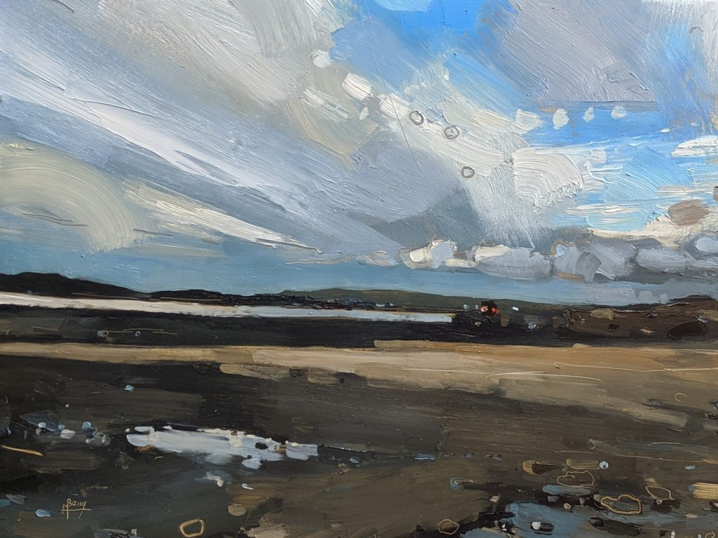 Instow 22 x 30 cm oil on board